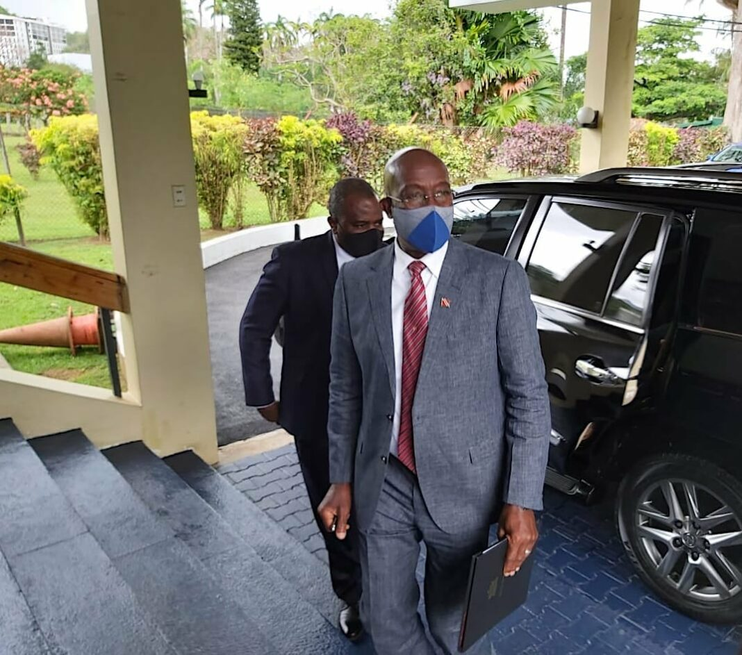 Prime Minister Dr Keith Rowley, following COVID-19, was administered for Magnetic Resonance Imaging (MRI) scan as a part of ongoing healthcare and observation.